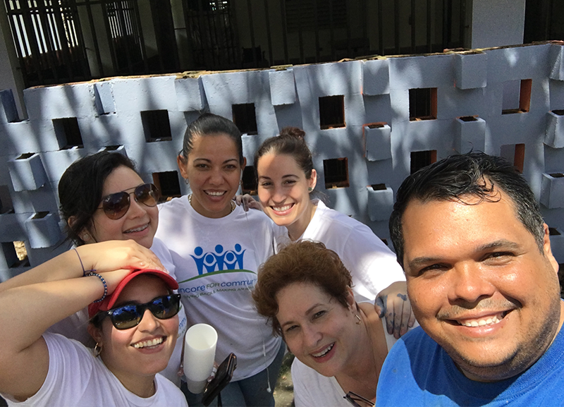 MCM employee volunteers Puerto Rico