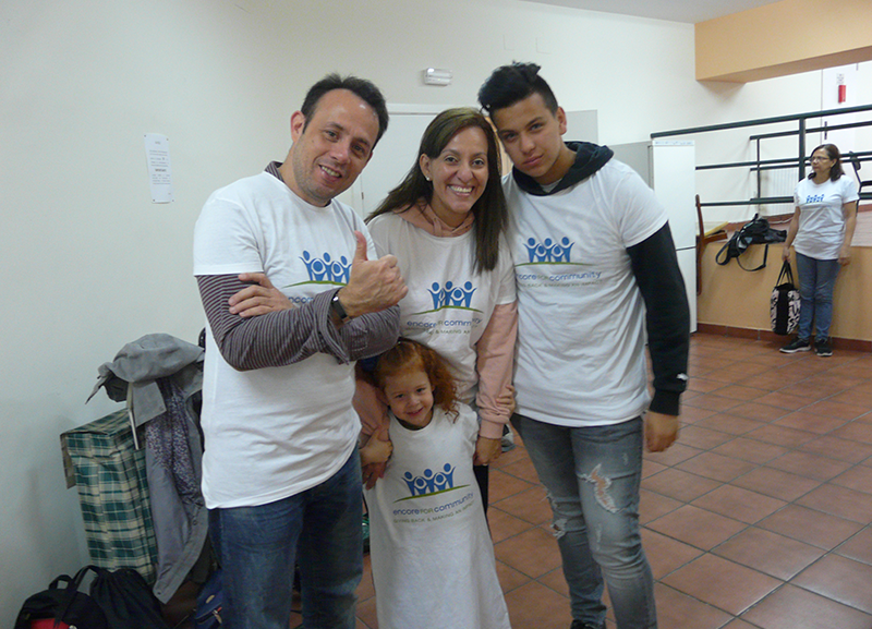 Cabot employee volunteers Madrid